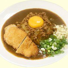 チキンカツカレー(220元)